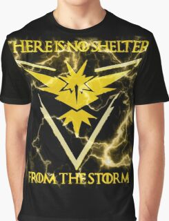 There is no shelter from the storm Pokemon go Graphic T-Shirt