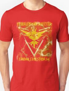 There is no shelter from the storm Pokemon go Unisex T-Shirt