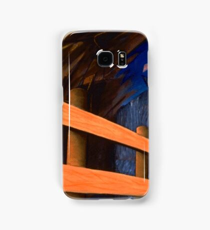 Fence Post Samsung Galaxy Case/Skin