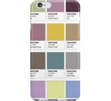 Colour Swatches iPhone Case/Skin