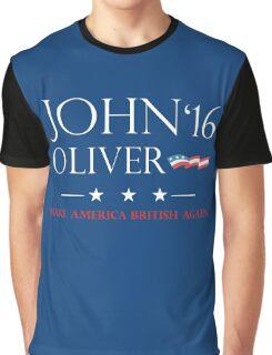 John Oliver 2016 Graphic T-Shirt