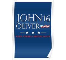 John Oliver 2016 Poster