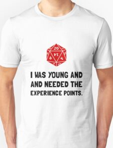 Experience Points T-Shirt