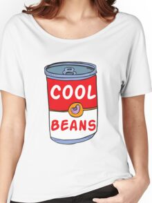 Can of Cool Beans Women's Relaxed Fit T-Shirt