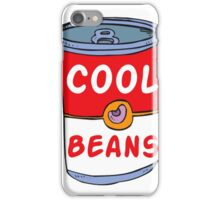 Can of Cool Beans iPhone Case/Skin