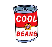 Can of Cool Beans Photographic Print