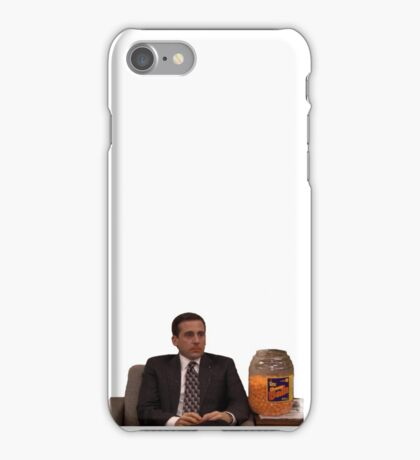 Michael Scott Cheesy Poofs iPhone Case/Skin