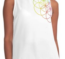 Flower of Life Contrast Tank