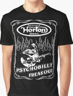 The Reverend Horton Heat (Psychobilly Freakout) Graphic T-Shirt