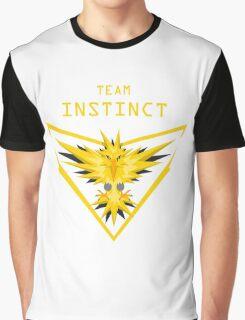 Team Instinct - yellow Pokemon go Graphic T-Shirt