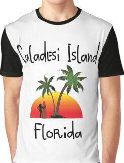 Caladesi Island Florida Graphic T-Shirt