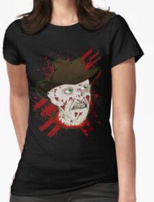 Every town has an elm street Womens Fitted T-Shirt