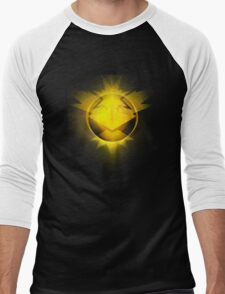 Instinct team yellow pokemongo pokemon Men's Baseball ¾ T-Shirt