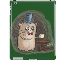 Sir Hamster with tea iPad Case/Skin