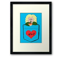 Helena in your pocket Framed Print