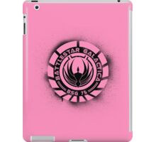Battlestar Galactica Grunge - Pink Line iPad Case/Skin