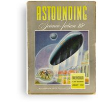 astounding science fiction Canvas Print