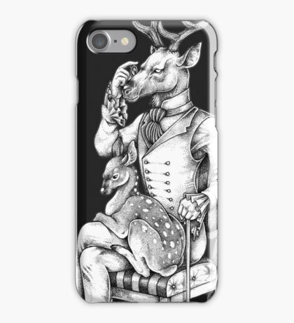 Deer and Fawn iPhone Case/Skin