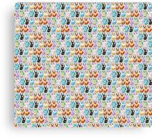 Pixel Eevees Canvas Print