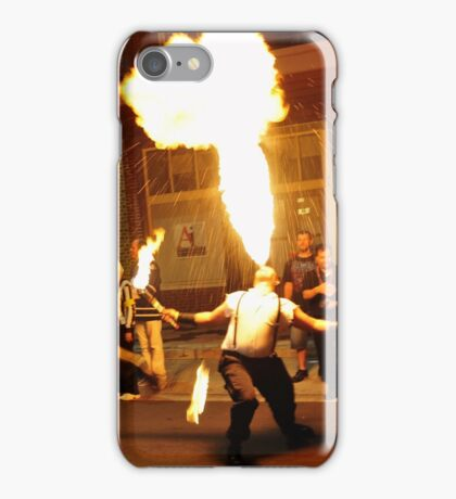 Man on Fire iPhone Case/Skin
