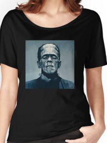 Boris Karloff as Frankenstein  Women's Relaxed Fit T-Shirt