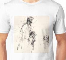 Jesus protects Mary Magdalene Unisex T-Shirt