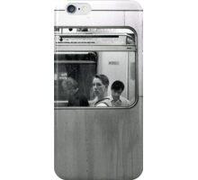 Tube Passenger (Underground, London) iPhone Case/Skin