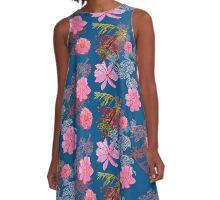 Carla/Mim/Clare's Japanese-Aussie Garden A-Line Dress