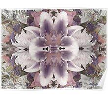 Lilac Garden Poster