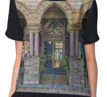 City Hall Can Be Changed Chiffon Top