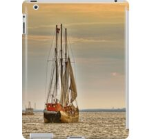 Summer Touring On The Old Ship - no.2 iPad Case/Skin