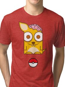 Zombimon Tri-blend T-Shirt