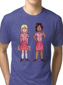"Ymir and Historia ""But I'm a Cheerleader"" Tri-blend T-Shirt"