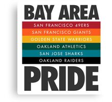 Bay Area Pride Canvas Print