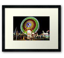 Florida State Fair  Framed Print