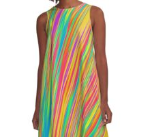 Abstract 130716(09) A-Line Dress