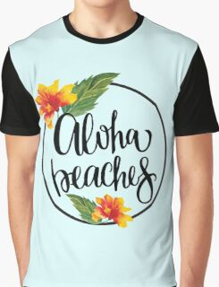 Aloha Beaches Graphic T-Shirt
