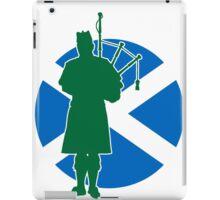 Scottish Piper Flag iPad Case/Skin