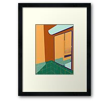 The Mirror on the Wall Framed Print
