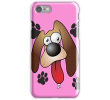 Lovable, Floppy-Eared, Slobbery Dog iPhone Case/Skin