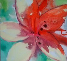 Lily Painting by Jennykeogh