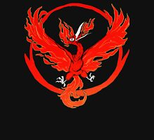 Team Valor pokemon go red flames fire Unisex T-Shirt