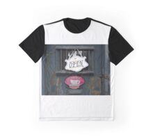Old Coffee House Graphic T-Shirt