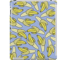 Banana - Soft Blue  iPad Case/Skin