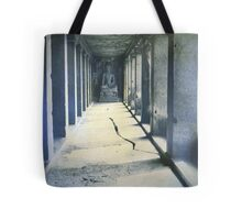 Ajunta Caves, India Tote Bag