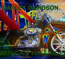 American Hellriders by David Lee Thompson