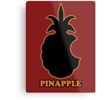 PinApple (faked Apple) Metal Print