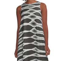 Abstract 140716(01) A-Line Dress
