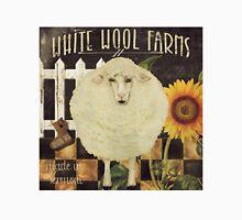 White Wool Vermont Farms Unisex T-Shirt