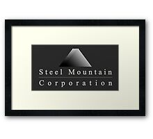 Steel Mountain Corporation Framed Print